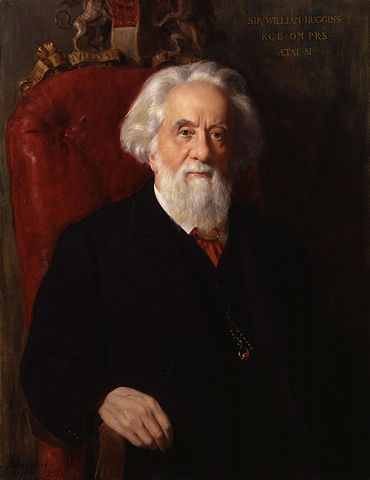 Sir William Huggins. Portrait: John Collier.